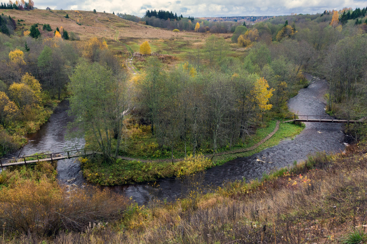 Вид на Кульвеевскую гору в октябре - Татьяна Копосова