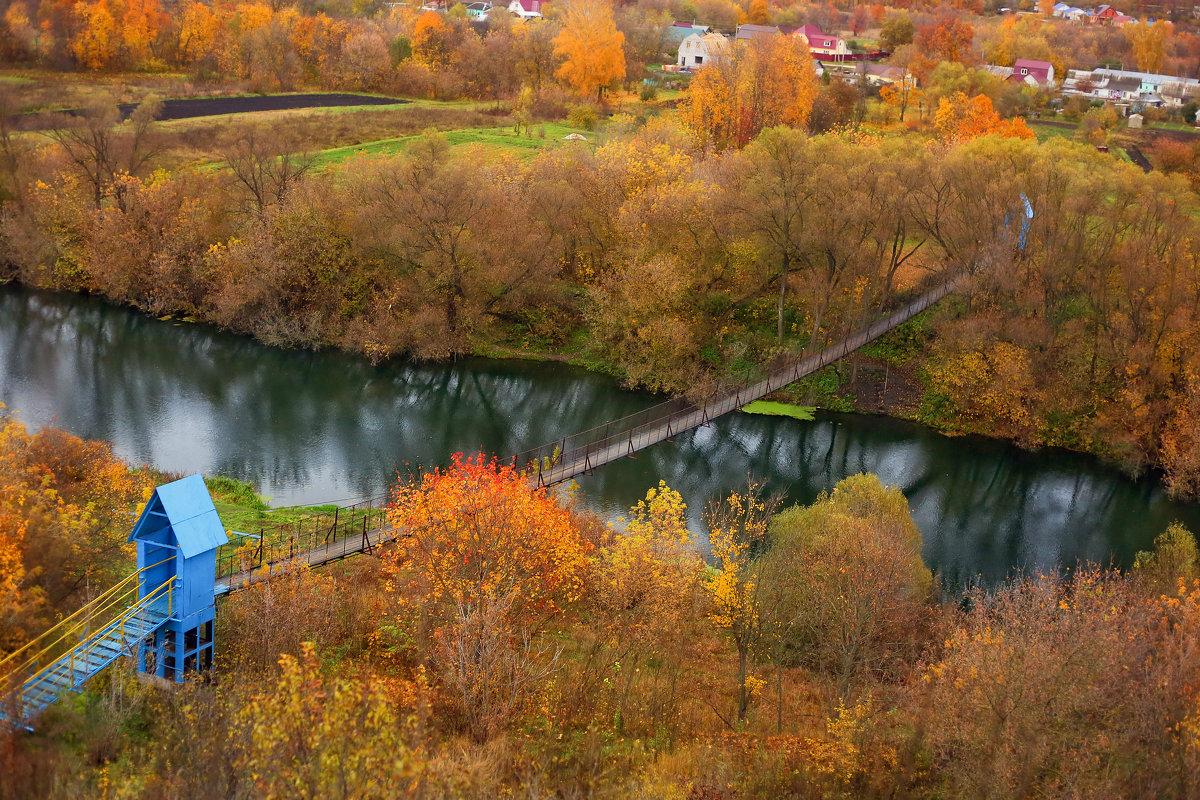 Подвесной мост через Дон - Мадина Скоморохова