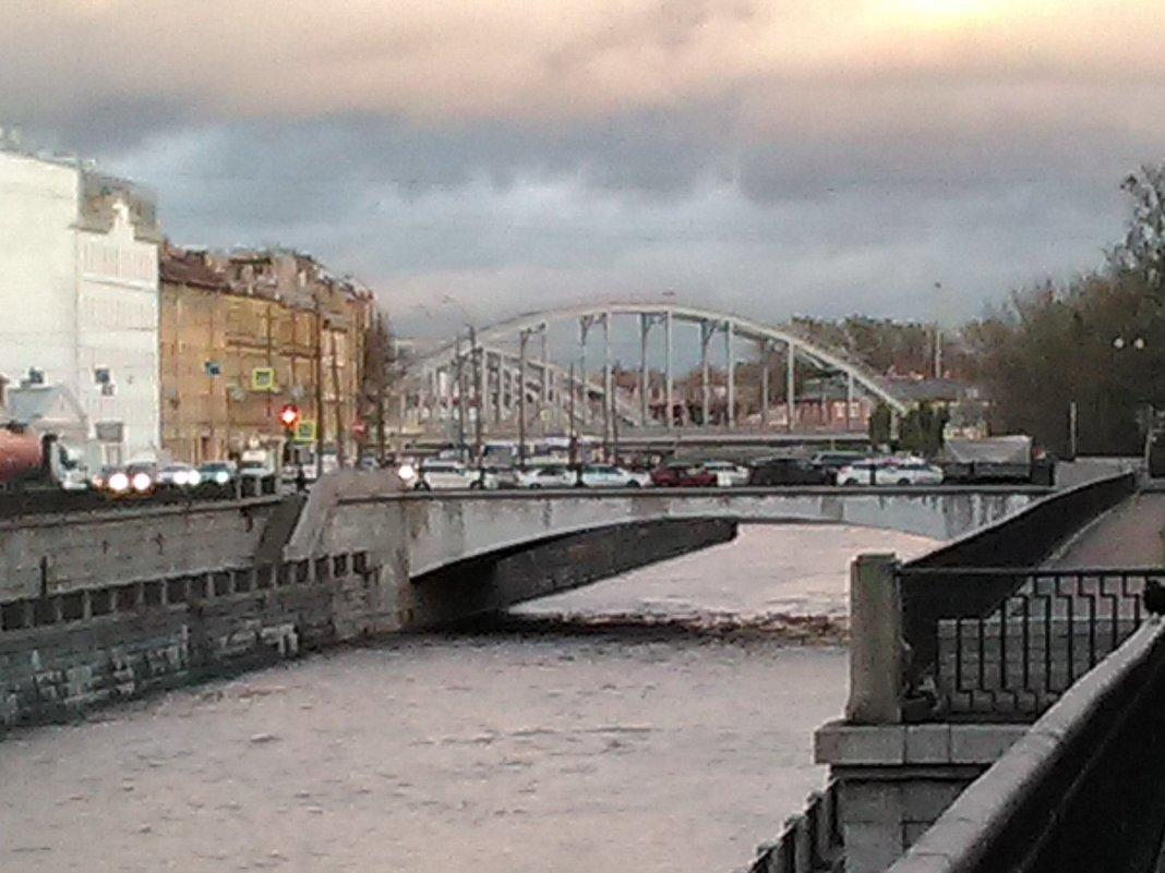 Американские мосты через Обводный канал. (Октябрь, 2017 год) - Светлана Калмыкова