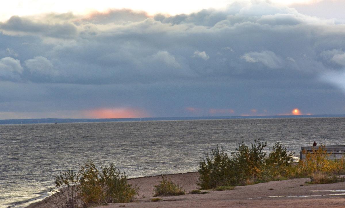 Финский залив, вечер - Наталия П