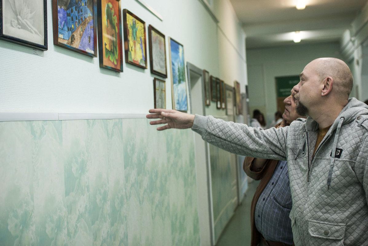 На выставке - Марина Алексеева