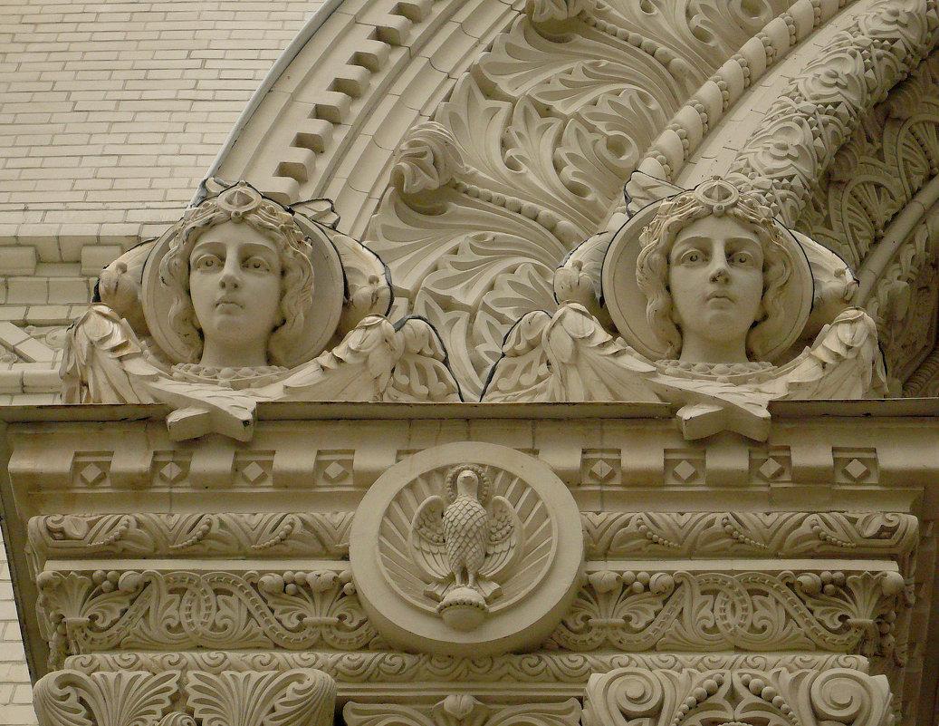 Элементы фасада Морского собора - Galina Belugina