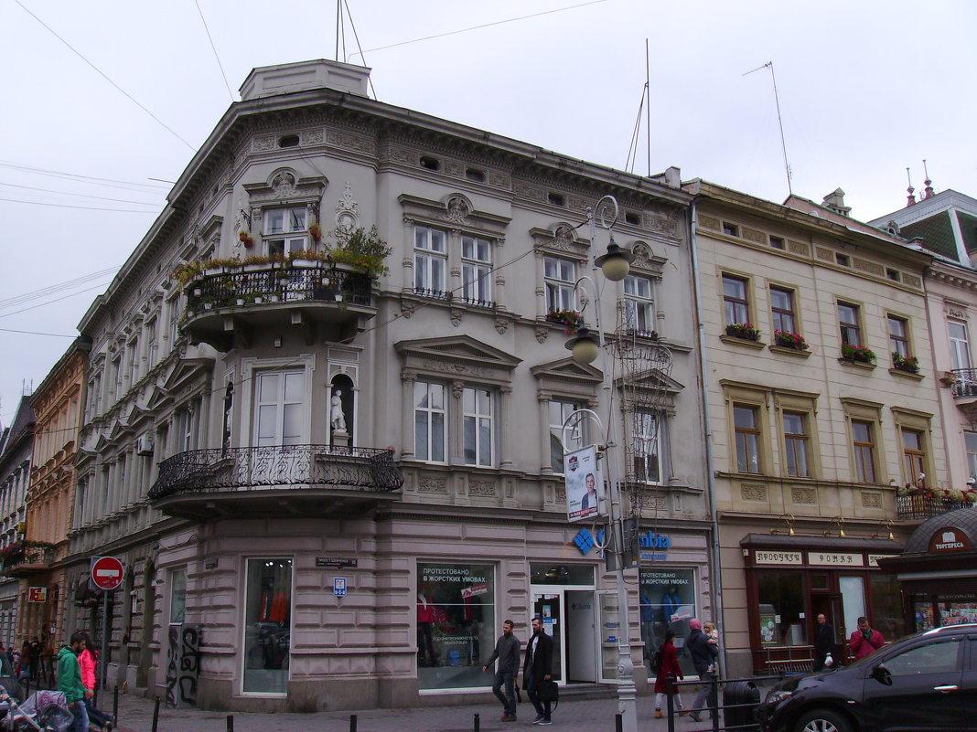 Жилой   дом   в   Львове - Андрей  Васильевич Коляскин
