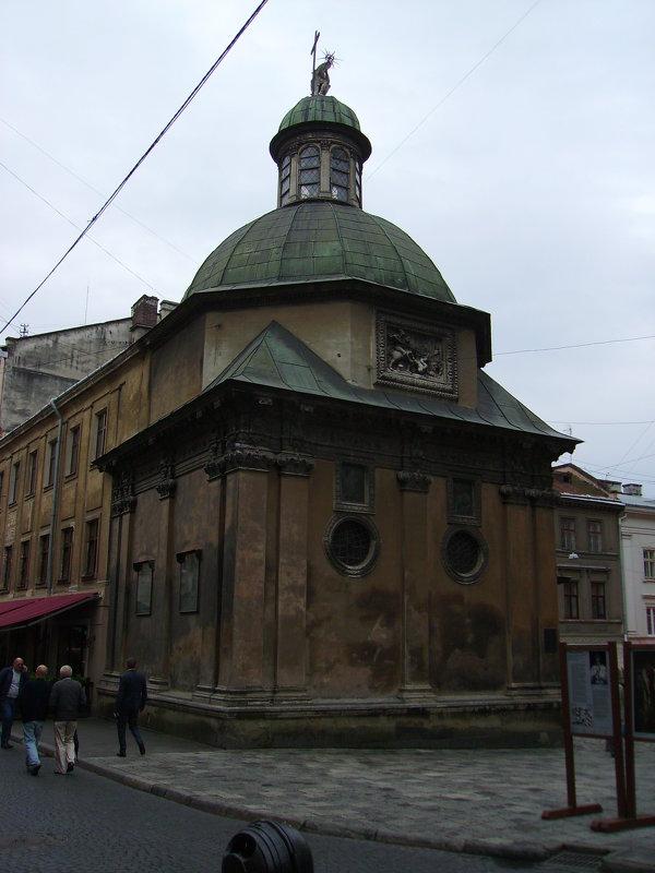 Каплица   Боимов   в   Львове - Андрей  Васильевич Коляскин