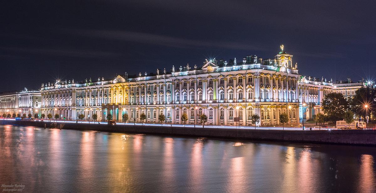 Дворцовая набережная - Александр Руцкой