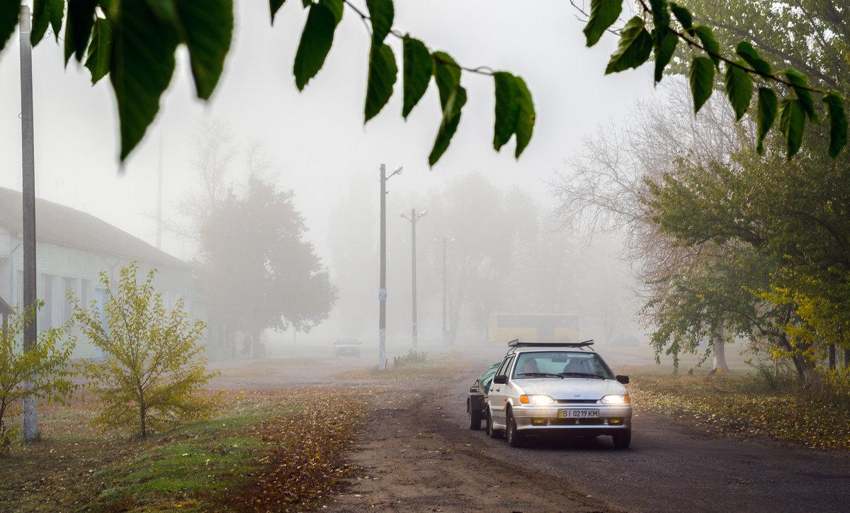Густой утренний туман. - Владимир
