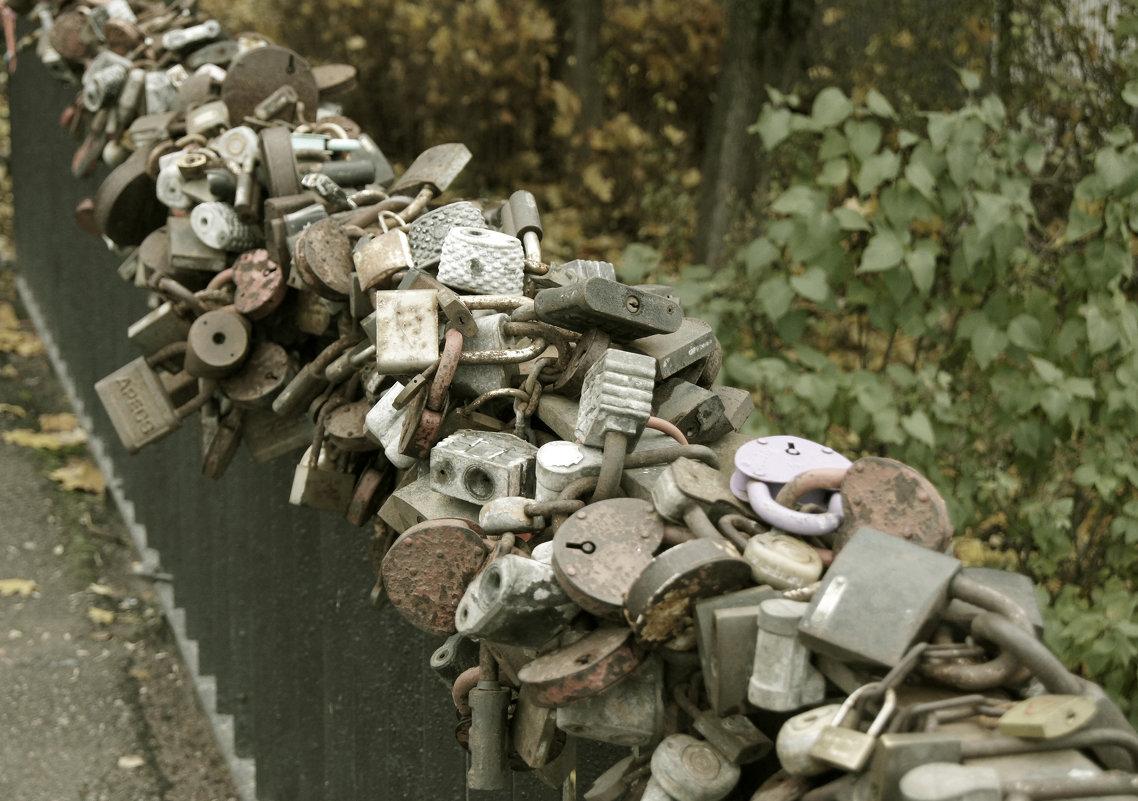 Замков гирлянды расписные, украсили собой мосты... - сергей лебедев