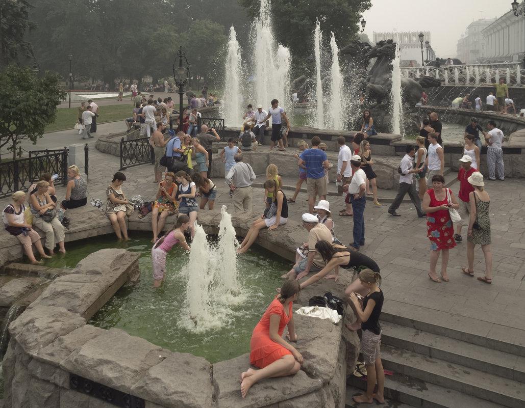 Смог в Москве 2010 - Алексей Окунеев