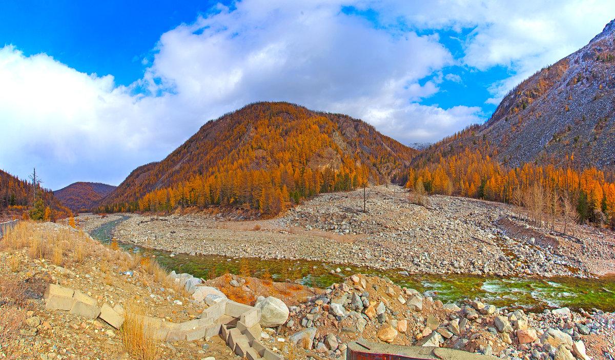 Панорама поворота реки - Анатолий Иргл
