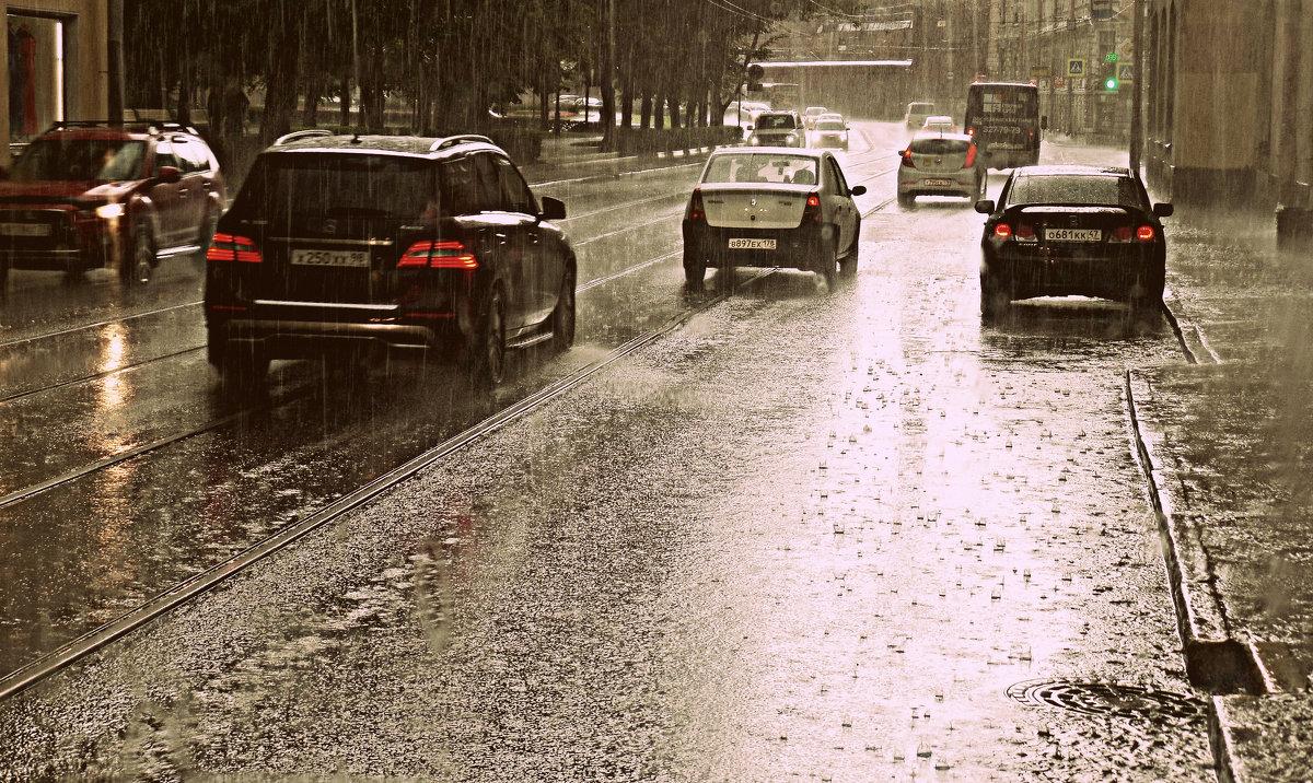 Летний дождь. - Марина Харченкова