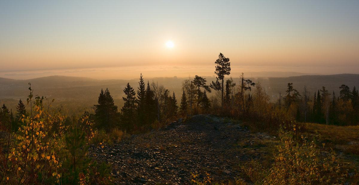 Туманный восход - vladimir Bormotov
