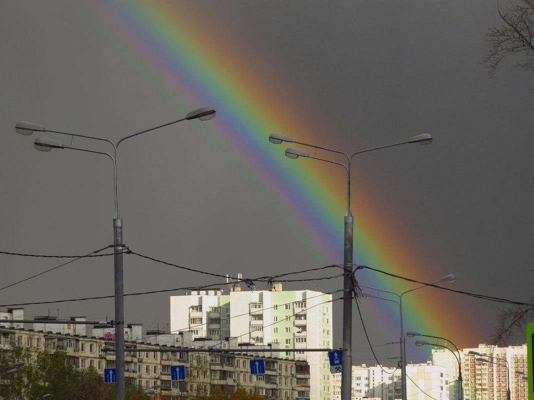 """Ну, очень жирную радугу """"подвезли""""! - Андрей Лукьянов"""