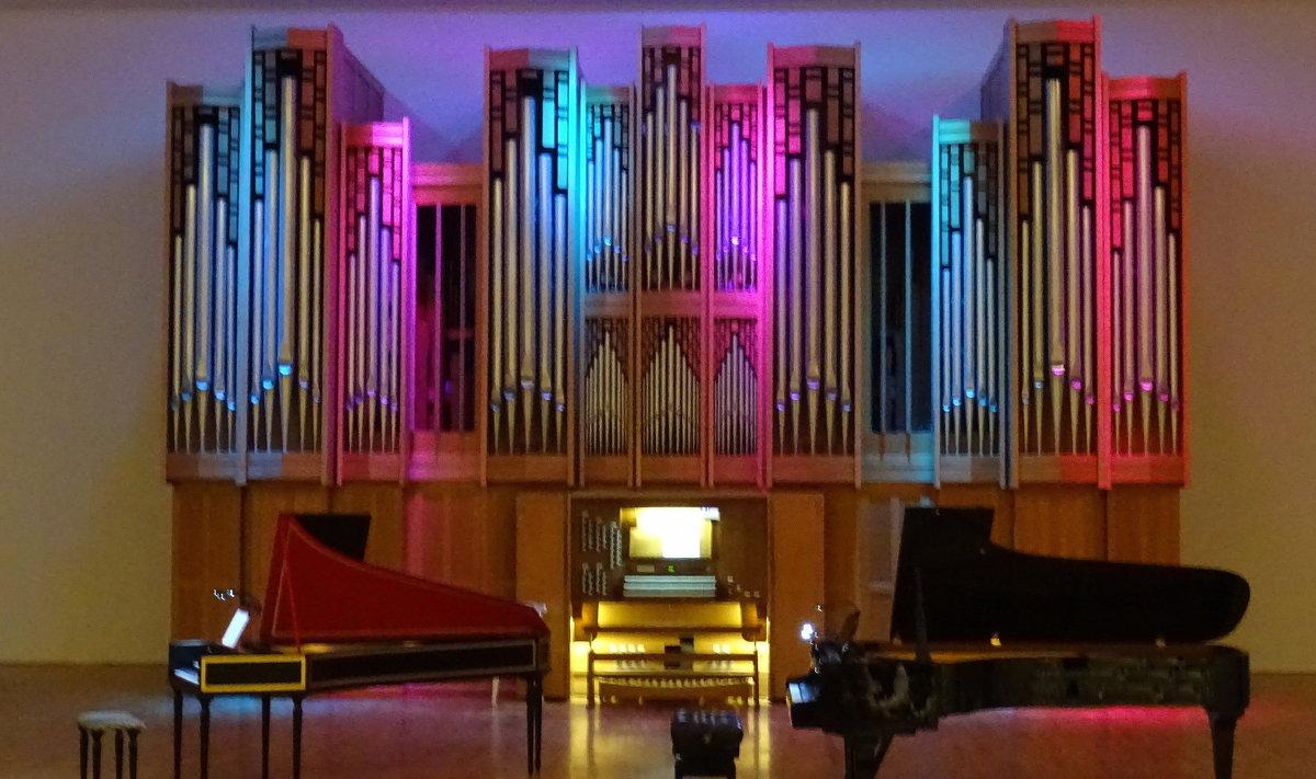Кисловодск. Орган в филармонии - татьяна