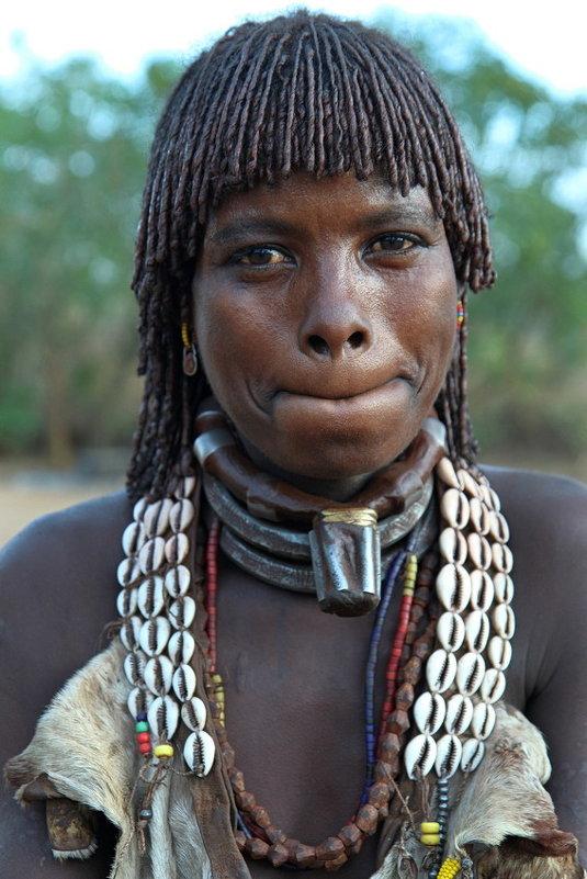 Женщина из племени Хамер - Евгений Печенин
