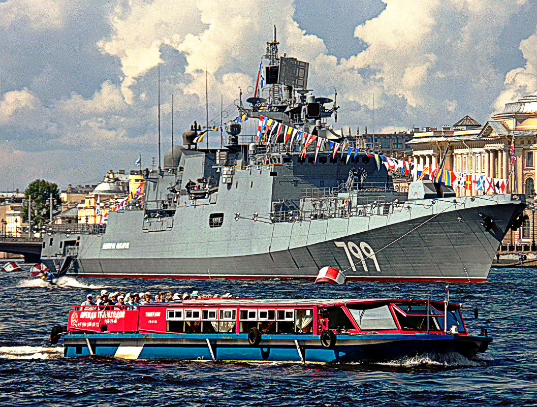 Праздник ВМФ в Питере. - Марина Харченкова