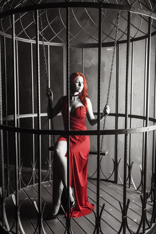 женщина в красном - Константин Король