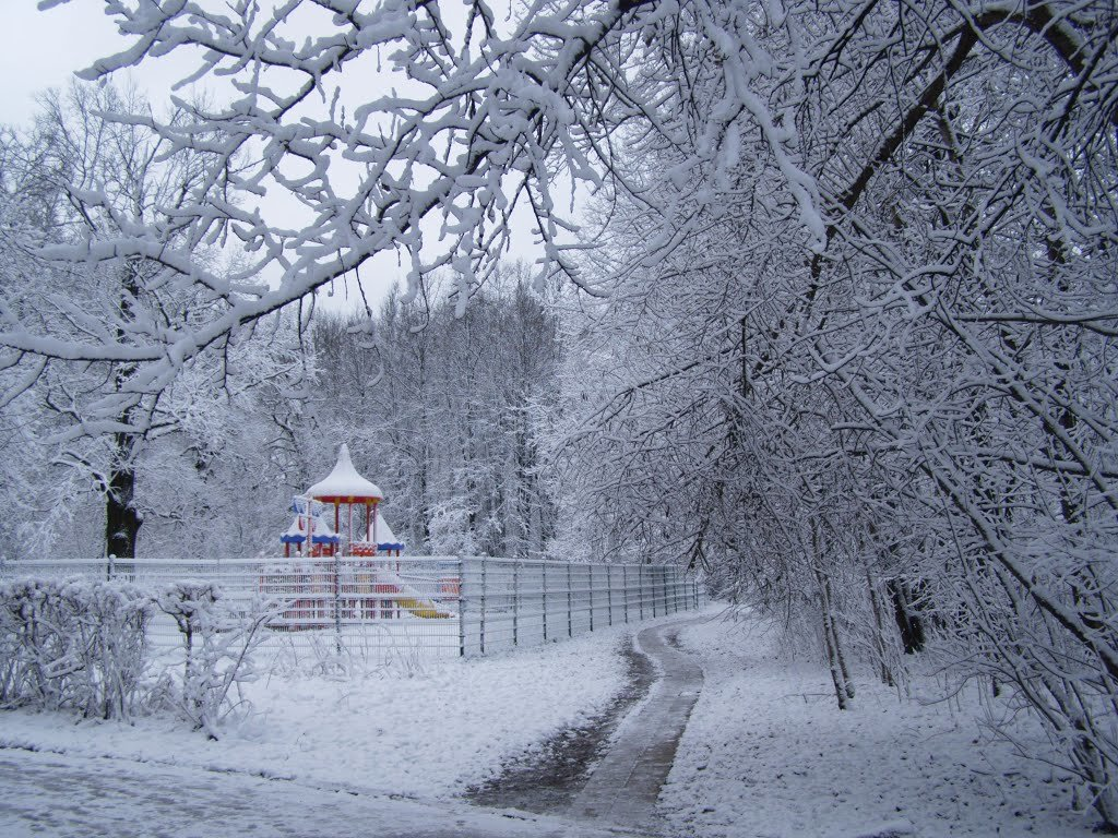 __Зима первый снег - Анна Воробьева