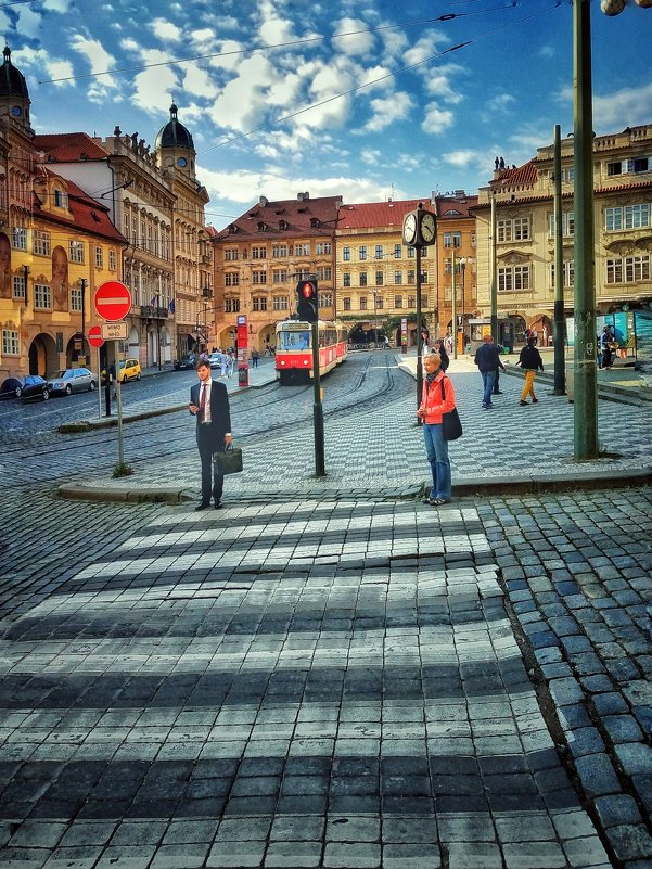 На улицах Праги. - Gene Brumer