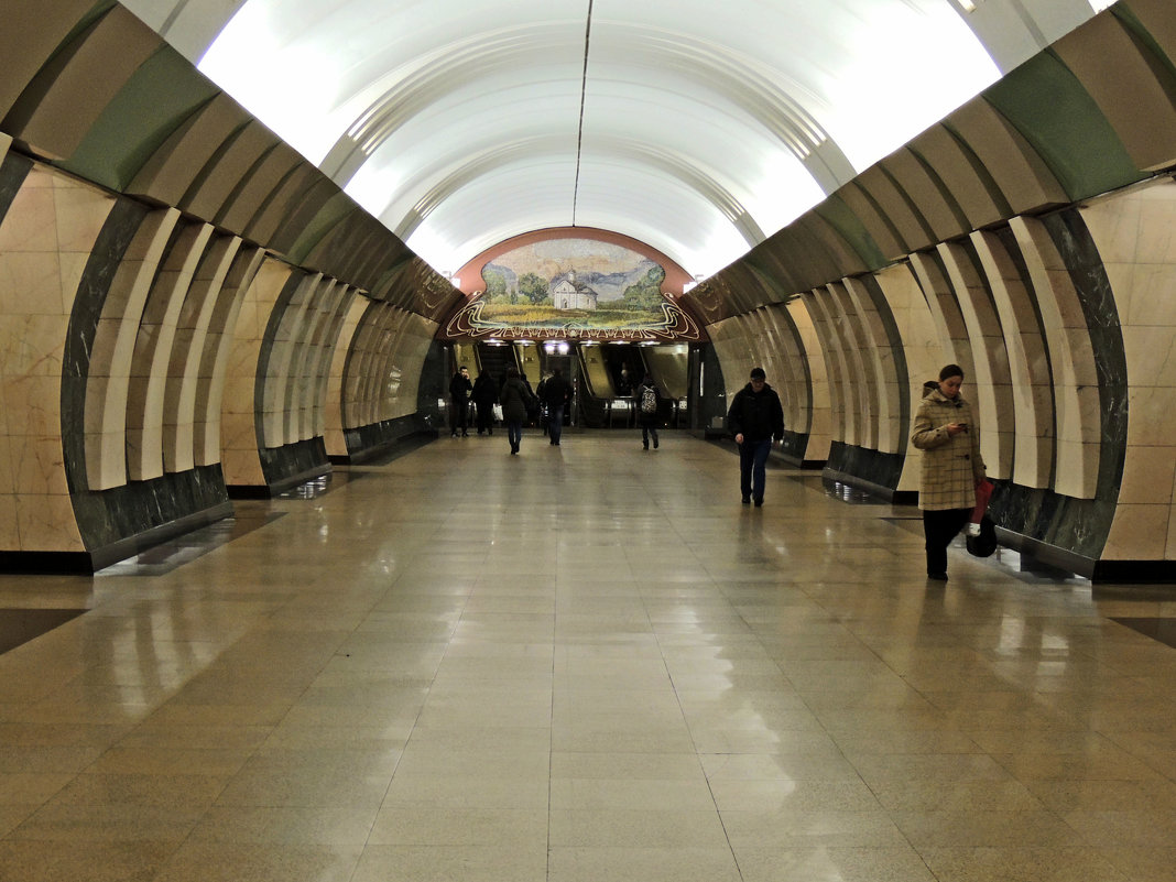 Москва,метро станция Марьина Роща - Александр Качалин