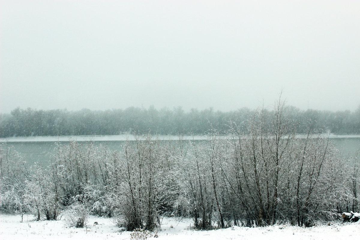 Река готовится к зиме - раиса Орловская