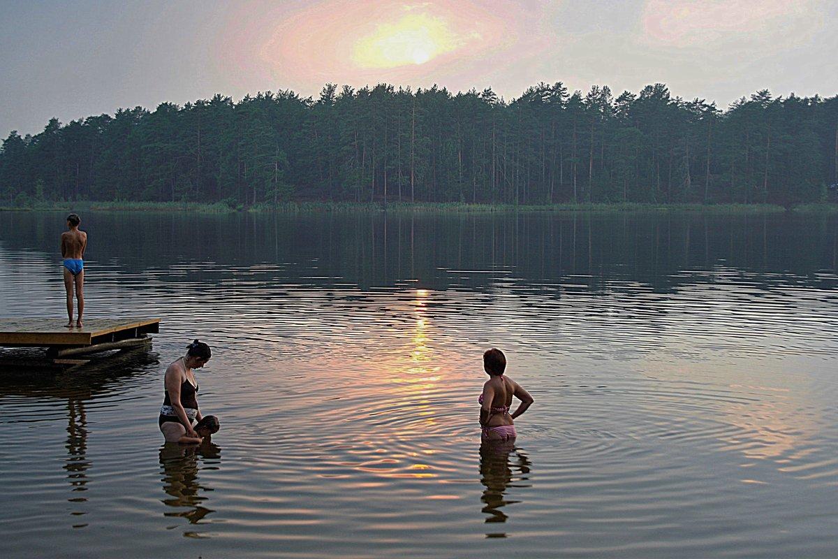 Купание на склоне дня - Николай Масляев