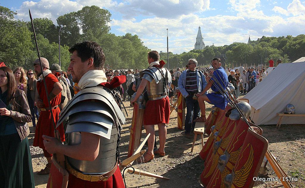 римские воины в Коломенском - Олег Лукьянов