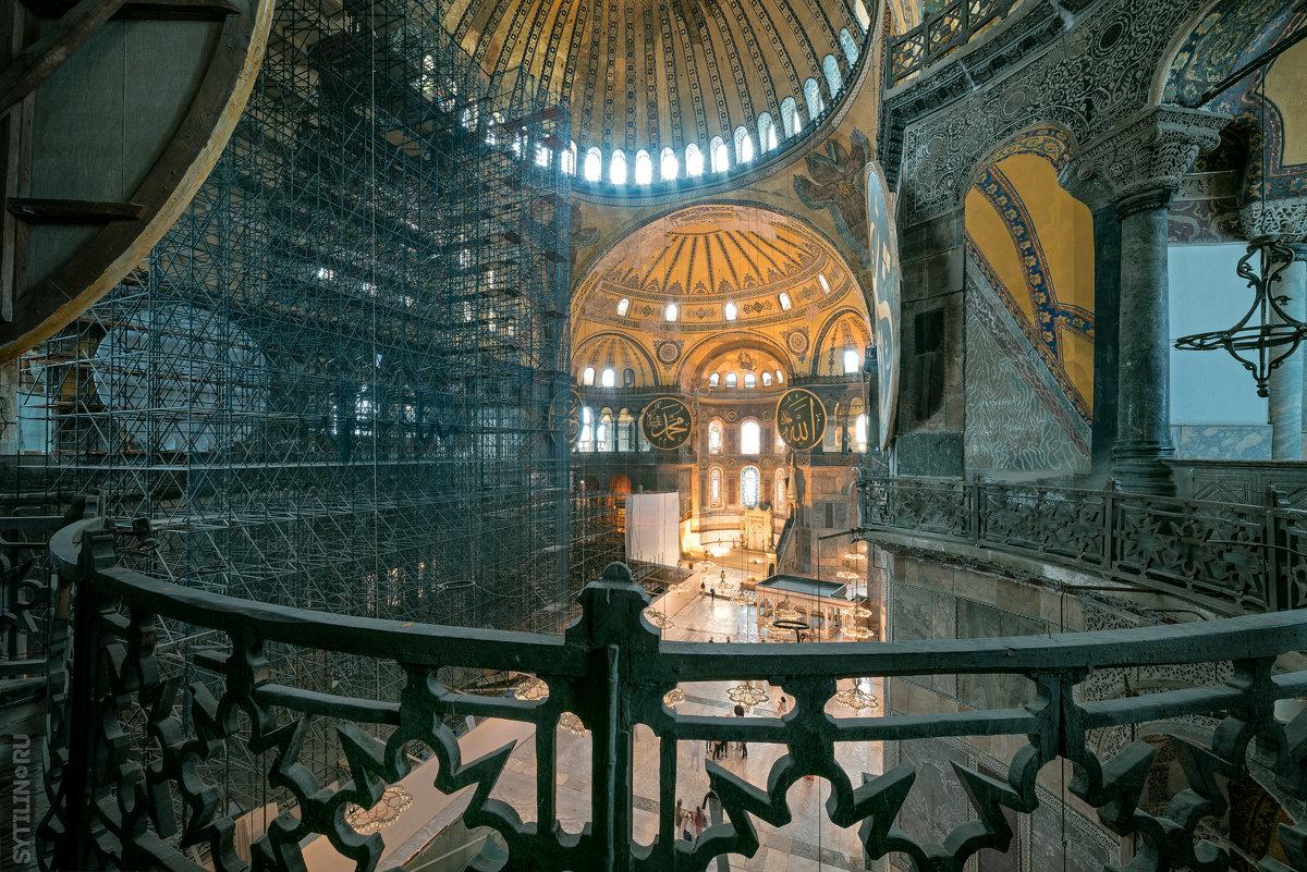 Интерьер собора Святой Софии - Павел Сытилин
