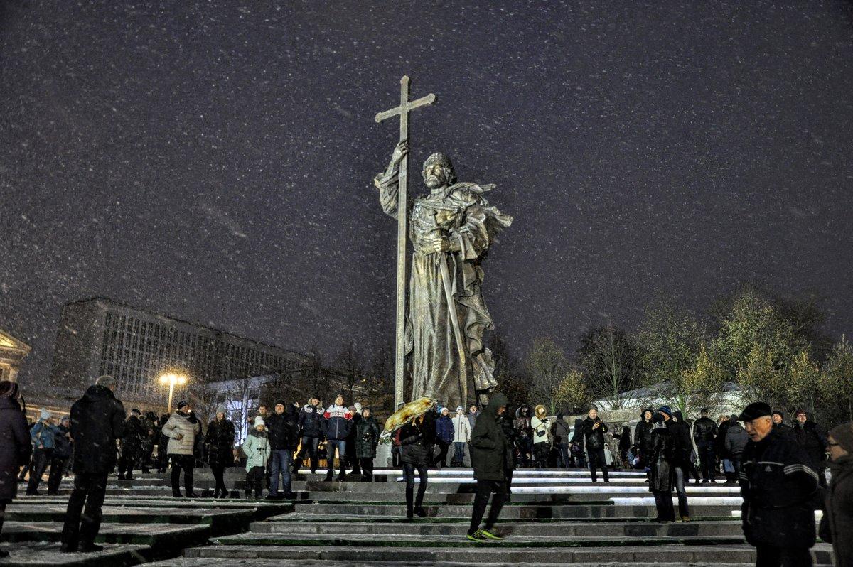 Князь Владимир в метели... - Анатолий Колосов