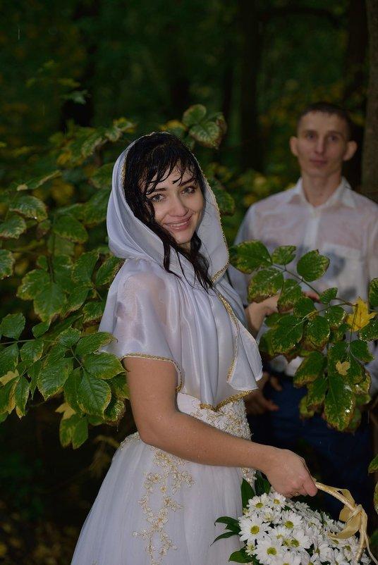 Прогулка под дождём. Красивая Невеста. - Раскосов Николай