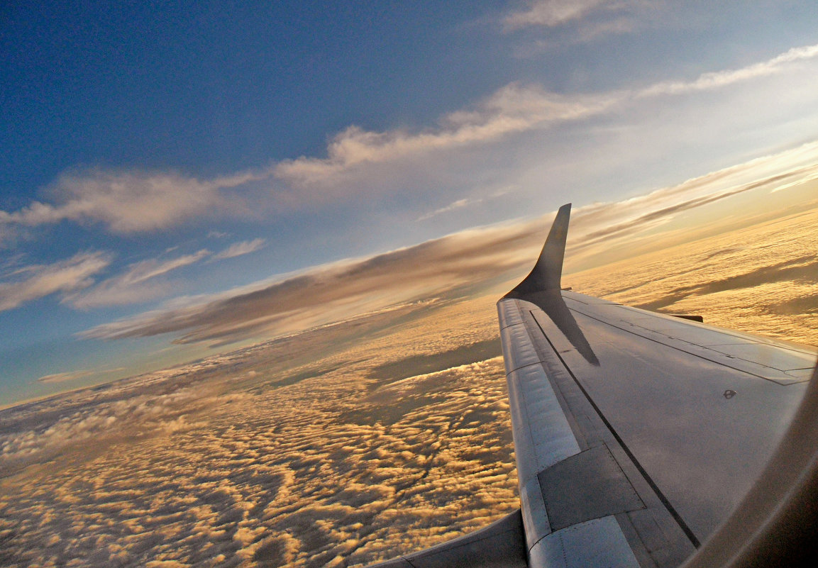 Под крылом самолета...! - Наталья