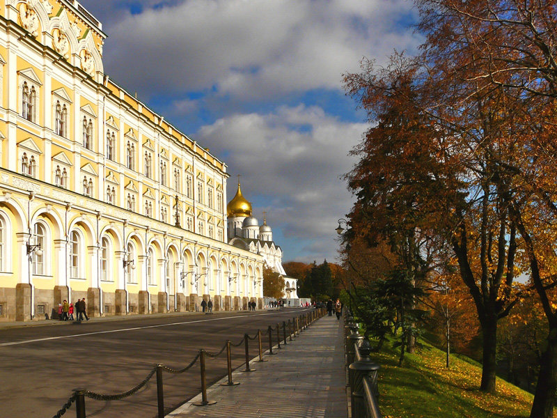 Осенние прогулки - Vera Ostroumova
