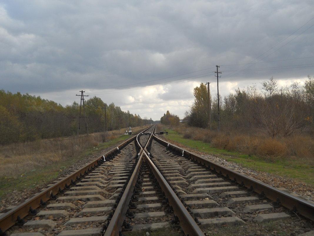 На перепутье двух дорог - Галина