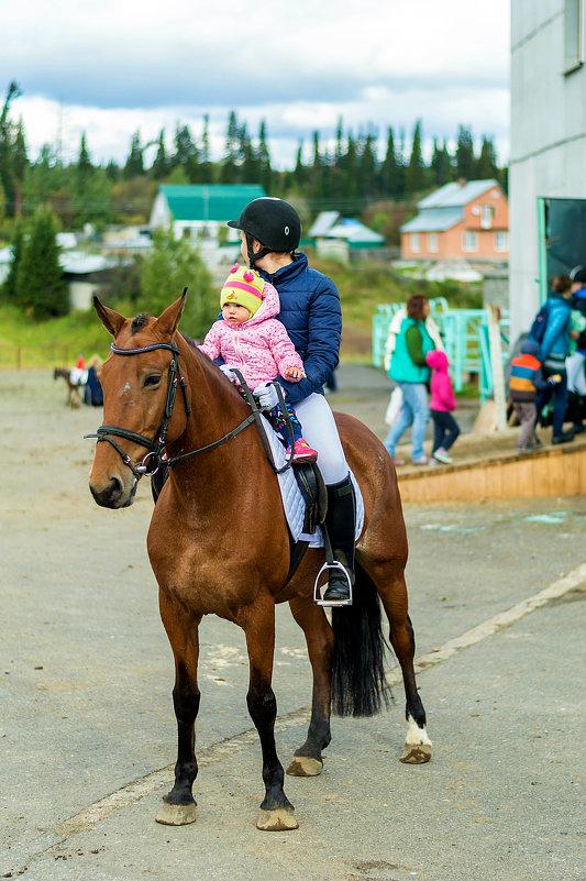 Верхом на коне первый раз - Владимир Деньгуб