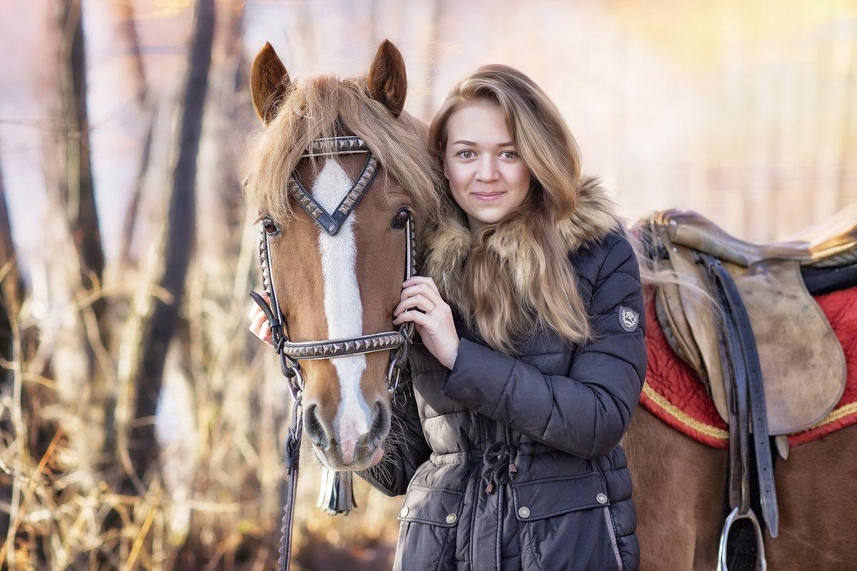С Марусей - Екатерина Лазарева