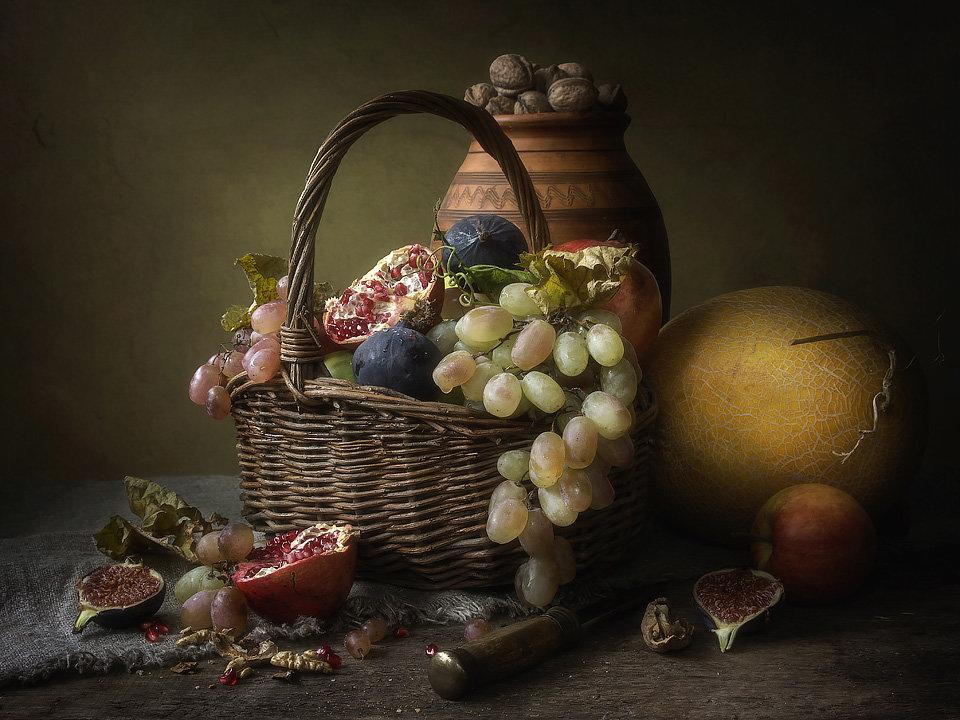 Натюрморт с осенними плодами - Ирина Приходько
