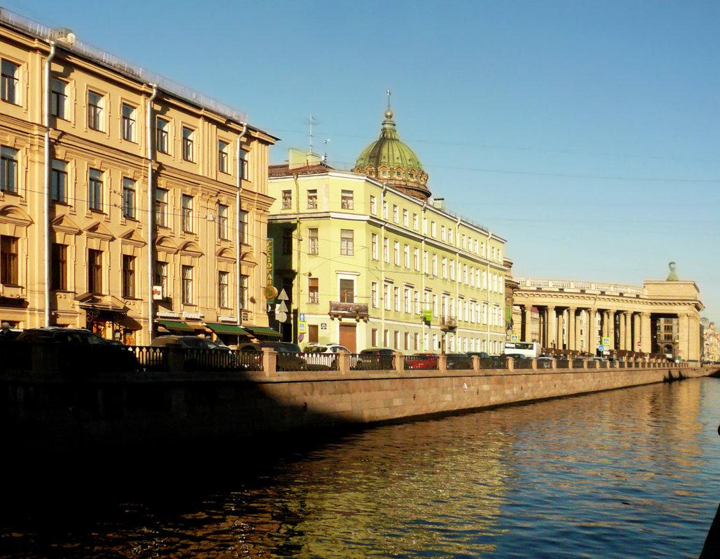набережная канала Грибоедова, Санкт-Петербург, - Galina Belugina