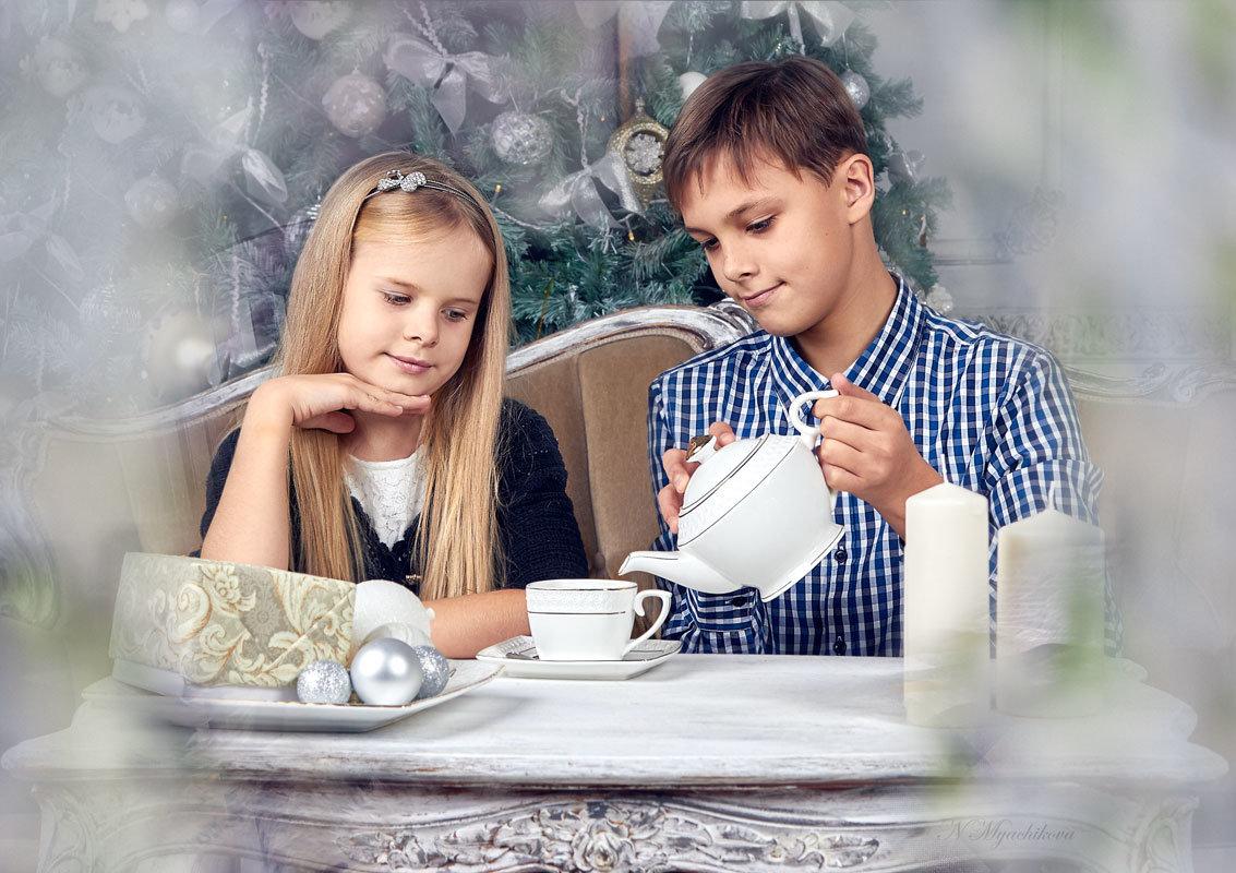 Новогоднее чаепитие - Наталья Мячикова