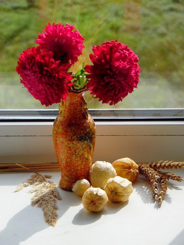 Цветы сентября. - nadyasilyuk Вознюк