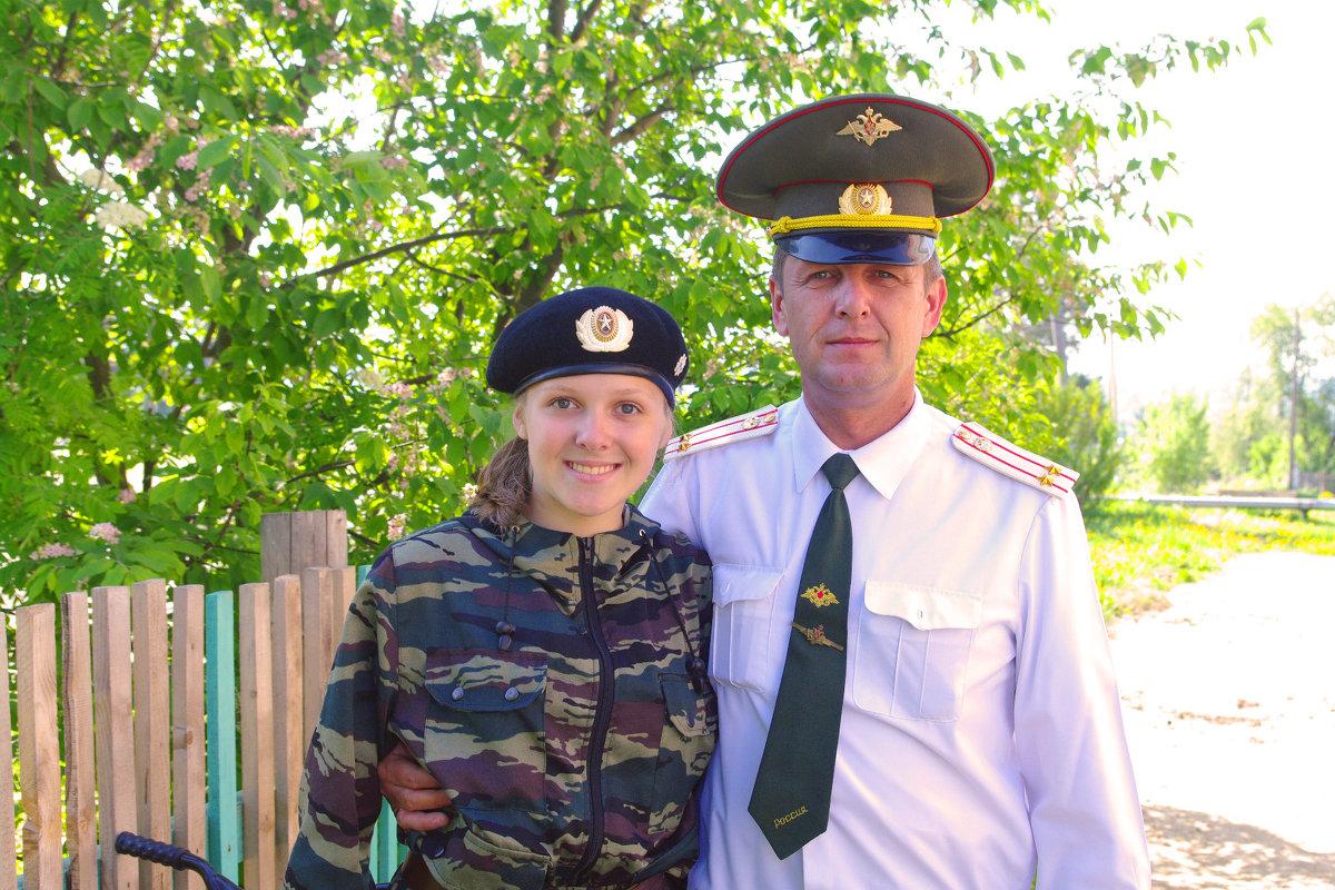 папа с дочкой - леонид логинов