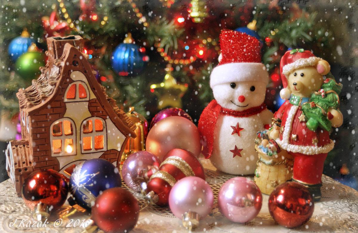 Рождественский праздник. - Елена Kазак