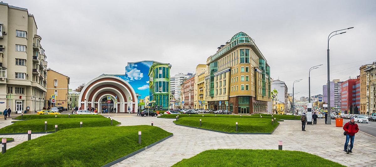 Москва, метро Красные Ворота - Игорь Герман