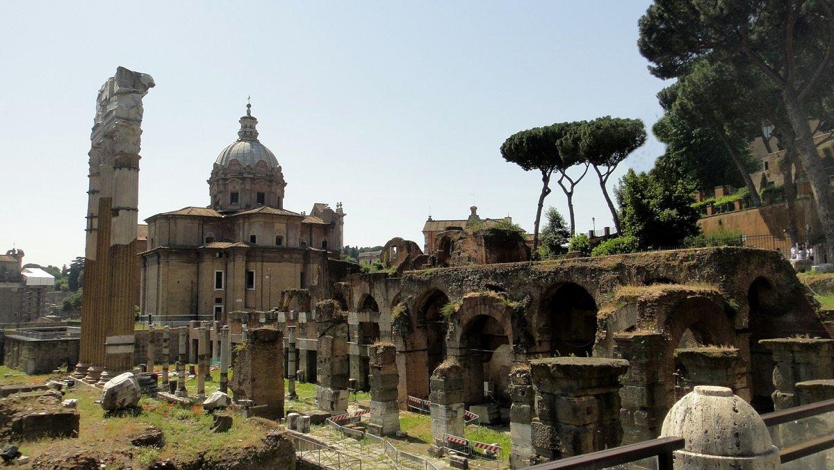 Развалины Римского Форума - Елена Павлова (Смолова)