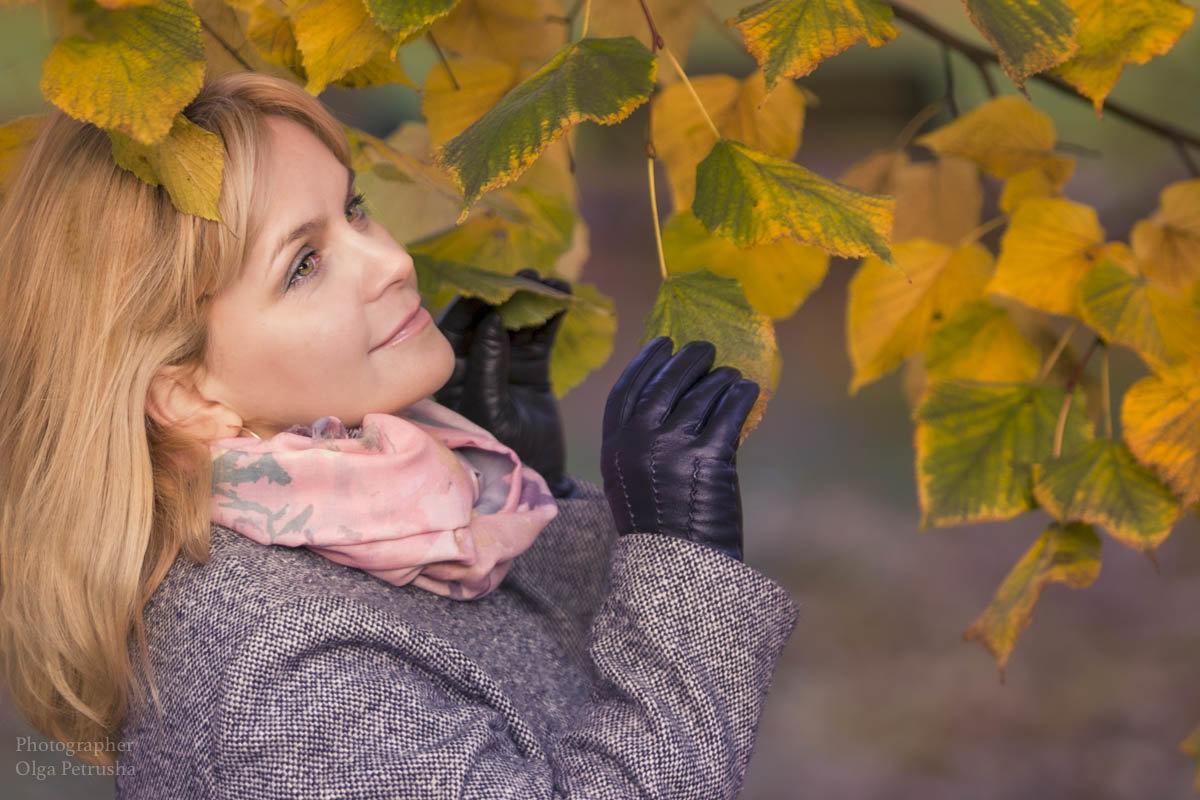 Осенняя фотосессия - Ольга Петруша
