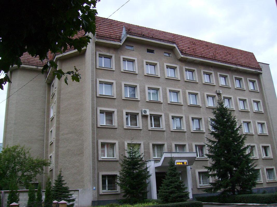 Административное  здание   в   Ивано - Франковске - Андрей  Васильевич Коляскин