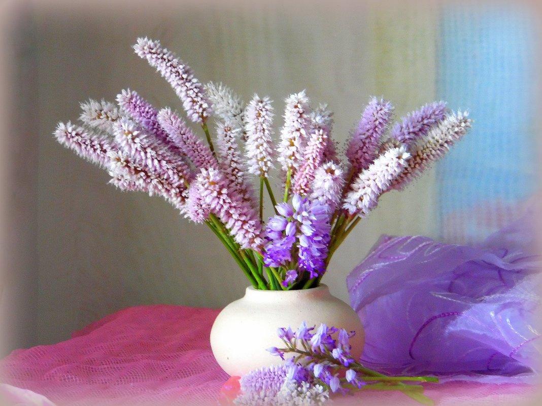 Розовые цветы. - nadyasilyuk Вознюк