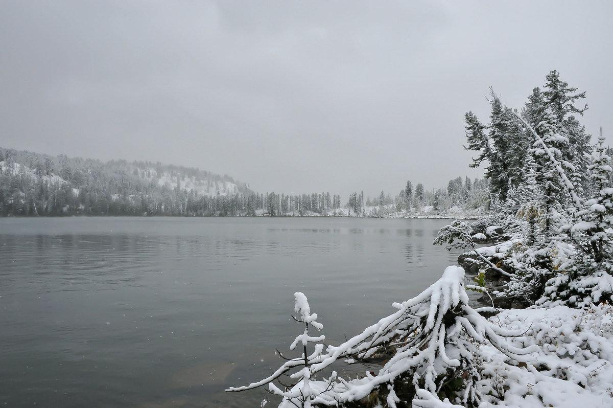 И падал снег... - Сергей Герасимов