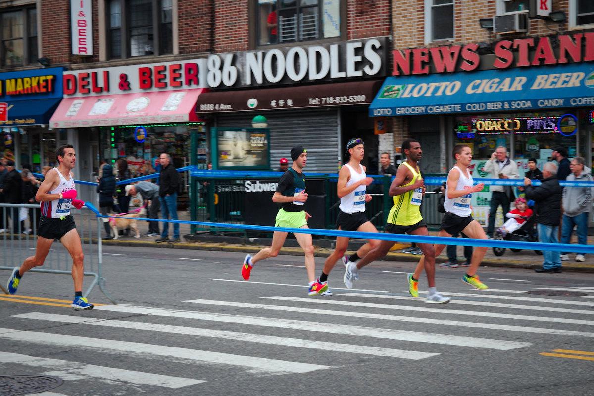 Нью-ЙОркский марафон 2017. Олимпионики-мужчины 1 - Олег Чемоданов