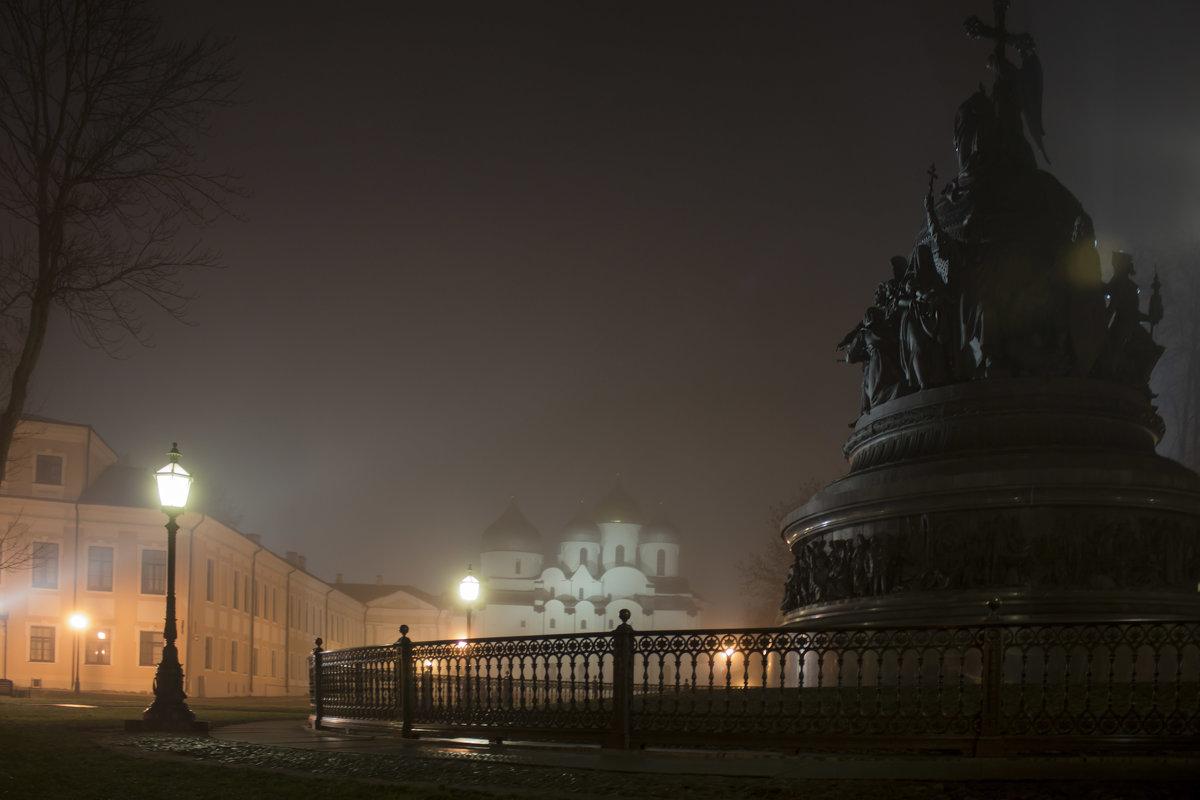 Памятник «Тысячелетия России» ,Софийский собор. - Ольга Лиманская