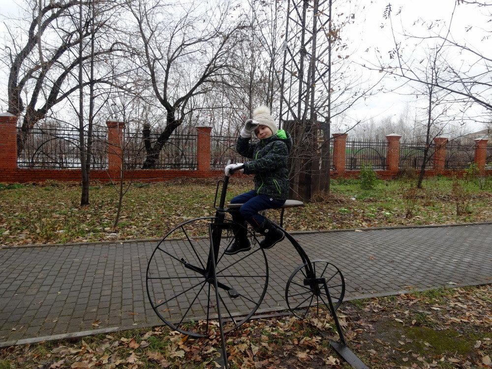 Велосипед Артомонова .Музей Черепановых. - Елизавета Успенская