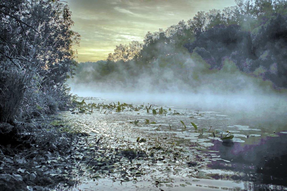 рассвет на реке - юрий иванов